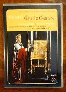 Handel - Giulio Cesare, Yvonne Kenny, Graham Pushee, Richard Hick  - DVD, As New