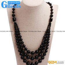 Agate Stone Beaded Costume Necklaces & Pendants