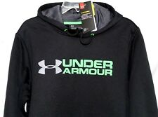 UNDER ARMOUR UA STORM ARMOUR FLEECE MEN'S HOODIE, BLACK, 1299751-001