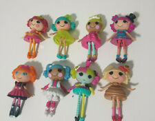 LALALOOPSY MINI DOLLS X8 FROM THE PLAYSETS CHARACTER TOYS