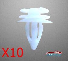 ROVER 25 / 75 RENAULT CLIO MK2 INTERIOR DOOR CARD TRIM CLIPS X10