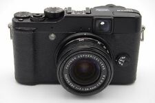 FUJIFILM X10 12MP CAMERA - FUNCTIONAL EXCEPT LENS NOT GOING BACK, NEED REPAIR