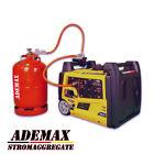 GAS & Benzin Inverter 3500W Stromerzeuger Stromaggregat E-Start 230V KGG34Ei-DF