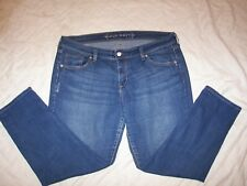 Women's Old Navy Low Rise Stretch Distressed Crop Jeans - Size 12 Reg