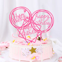 """""""One"""" Cupcakes Happy Birthday Party Decoration Cake Decorating Tool Cake Topper"""