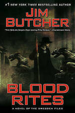 BLOOD RITES: A DRESDEN FILES NOVEL- Jim Butcher (Hardcover, 2010, Free Postage)