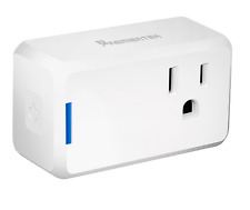 Premiertek HS1050 Wi-Fi Mini Smart Plug, Control from Anywhere, Work with Alexa