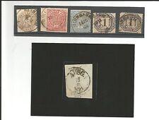 Prussia/siede 6 pezzi interessanti, dove mai grottesco-k1 A. PR. 18a, Briefs