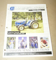 2003 Farmtrac Tractor  330 HST / 390 HST Operator's Manual P/N 906766