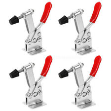 4 Hand Tool Toggle 201-B Clamp Red Plast Horizontal Quick Release Pushl Tool