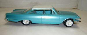 VINTAGE AMT 1960 FRICTION FORD EDSEL RANGER PROMO CAR TURQUOISE