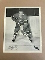 Lot of 3 Quaker Oats MTL Canadiens photos: Billy Reay, C MacKay, G Robertson