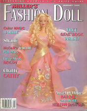 Miller'$ Fashion Doll Magazine, January 1999- Gene Book inside