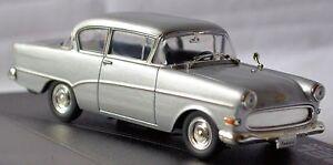 Opel OLYMPIA Record P1 1957-62 Designer Series Hans Mersheimer Silver Metallic 1