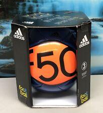 Adidas soccer ball size 3, f50 Blue/Orange, Brand New.