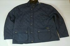 POLO RALPH LAUREN QUILTED AVIATOR NAVY JACKET BIG AND TALL SIZE 5XB BIG