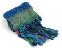 Winter SO Women's Scarves Gray  Blue Green Purple Fringe Shawl Muffler Scarf NEW