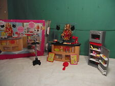"""2008 Barbie Doll """" I can be a TV Chef Playset by Mattel"""