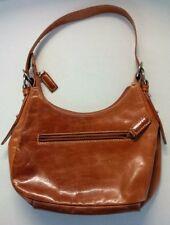 Danier Small Light Brown Leather Purse Satchel Handbag