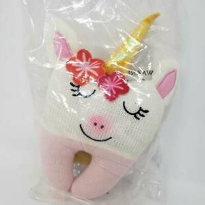 Tooth Fairy Pillow Kit, Pink Unicorn Style, Tooth Fairy Kit Includes a Notecard