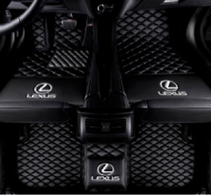 Maite Custom Car Floor Mat Fit for Lexus IS IS200 IS200t IS250 IS300 IS300h IS350 2005-2012 Full Surrouded XPE Leather Waterproof Carpets Mats Beige