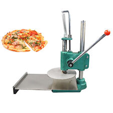 Pizza Dough Pizza Base Pastry Manual Press Machine Roller Sheeter Pasta Maker