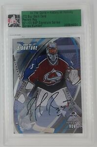 ITG History of Hockey Buy Back 2002-03 BAP Signature Series Auto Patrick Roy