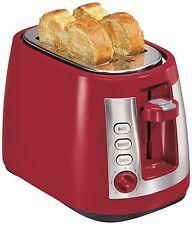 Hamilton Beach 22812 Ensemble Extra-Wide Slot 2-Slice Toaster Red