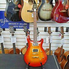 Westfield Doublecut Set Neck Guitar in Cherry Sunburst (PRS Custom 24 Copy)