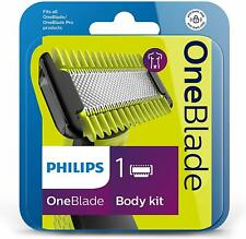 Philips OneBlade Replacement Blade for Face & Body - Pack of 1 Body Kit QP610/50