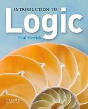 Introduction to Logic by Paul Herrick (2012, Paperback)