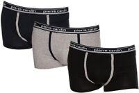 Boxer da uomo Pierre Cardin pc3607 assortiti in cotone elastico 3 pezzi