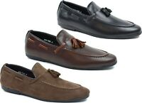 Mens tassel Slip On Casual Formal Moccasins driving loafer Shoes UK Size 6-11