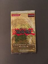 Yu Gi Oh Champion Pack Game One English CP01 Booster Sealed OVP