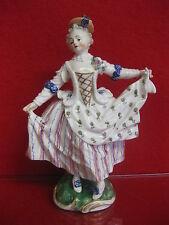 Nymphenburg Ludwigsburg ballerina Barocco Rokoko FIRMATO PERSONAGGIO