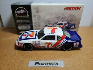 1985 Kyle Petty #7 7-11 Wood Brothers Racing Thunderbird 1:24 NASCAR Action MIB