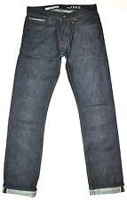 Gap 1969 Men's Dark Blue Rigid SELVAGE Denim Slim Jeans 28 X 31 1/4 AWESOME EUC