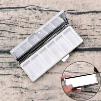 6 Grids New Small Silver Metal Tin Case Trinket Pill Tablet Travel Bag CampingN7
