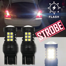 LED 7440 Strobe Blinking Flashing Reverse Light Bulb for Toyota,Safety Warning