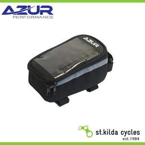 Azur Bike/Cycling Top Tube Phone Bag - Black