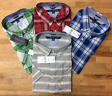 Tommy Hilfiger Men's Short Sleeve Classic Fit Button-Down Shirt