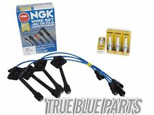Set Of NGK Wires And 4 Platinum Spark Plugs For 97-01 Toyota Camry 2.2L DOHC