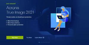 Acronis True Image 2021 ISO загрузочный
