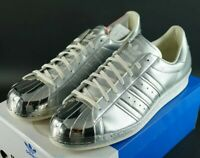 ADIDAS SUPERSTAR 80s METALLIC PACK MT TOE SIZE UK 12 EU 47 LIMITED EDITION OG DS