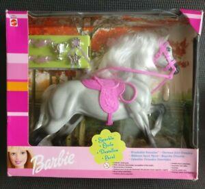 Vintage 1999 BARBIE Horse SPARKLE Brushable Beauties Mattel Boxed & Unused