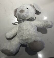 Sheridan Baby Sebastian Bear White Soft Toy Plush Toy BNWT