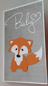 BABY CARD  / BABY / CARD /  BABYSHOWER / NEWBORN / ANIMALS / SMALL GIFTCARD