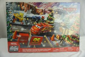 Disney Pixar Cars Metal Mini Racers Advent 24 Day Calendar Ages 3+