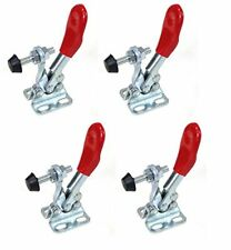 POWERTEC 20329 Quick Release Horizontal Toggle Clamp w Rubber Pressure Tip -