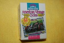 RARE CHAMPS American Vintage Cycles Collector Cards Series I Numbered Set BNIB!